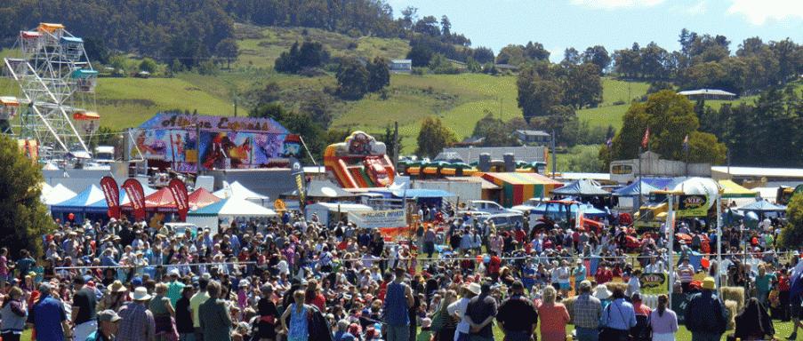 Huonville Market Tasmania